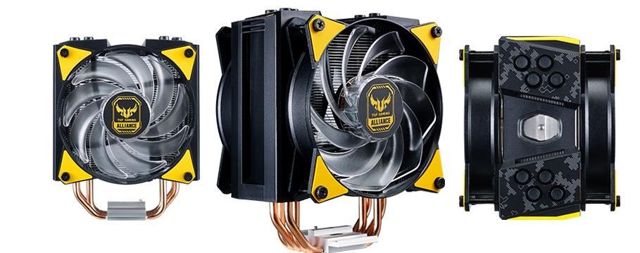 Cooler Master объявляет о выходе новой линейки процессорных кулеров под брендом TUF Gaming