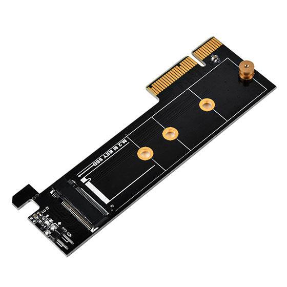 Silverstone SST-ECM24 1 x M.2 M Key to 1 x PCI-E x4 Converter